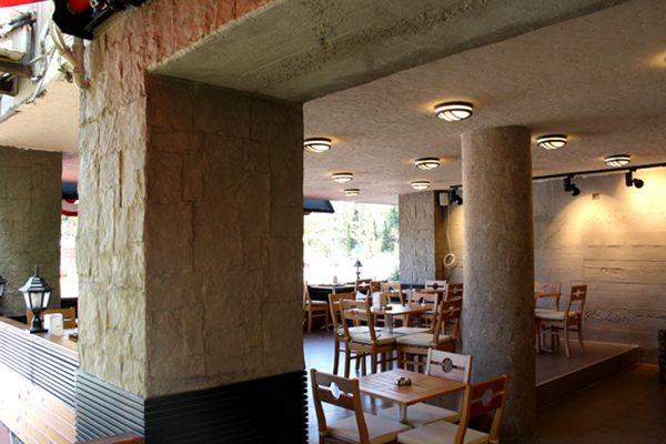 SİMİT SARAYI- iç cephe dış cephe duvar kolon kaplama panel taş mavna