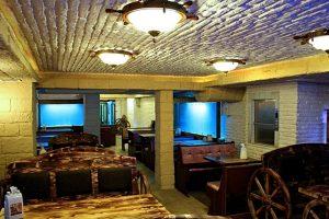 RESTORAN & KAFE RESTORAN PROJESİ - iç cephe duvar tavan kiriş kolon kaplama panel tuğla barcha taş shayka