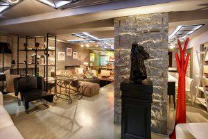 GALERIA CASABO - duvar kolon kiriş kaplama panel burgaca beton tasarım showroom mağaza cafe