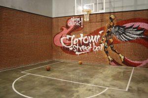 Spor Salonu duvar panel kaplama burton akro grafiti