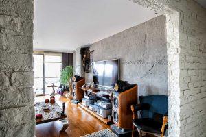 KONUT - iç cephe duvar kolon kaplama panel tuğla burton - beton galita