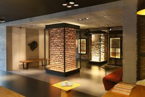 DC PANEL SHOWROOM - iç cephe - kolon,kiriş,duvar kaplama panel beton ,tuğla, taş , galita, burton akro, kalyon